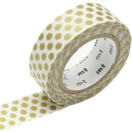 MT washi tape - goud stip