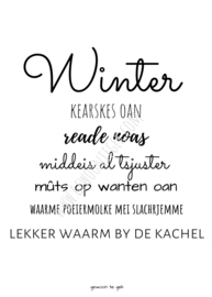 Interieurkaart Winter a6