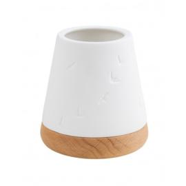 Räder - lantern  small - hout/porselein
