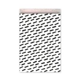 Kadozakken / Open spaces - zwart 17 x 25 cm