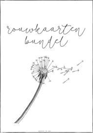 Bewaarbundel | rouwkaarten