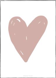 Hart / oud roze