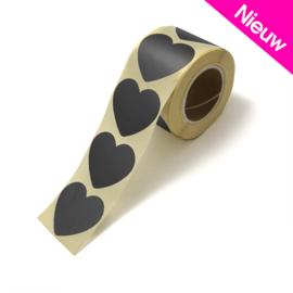 Stickers black heart