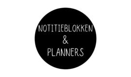 Notitieblokken & planners