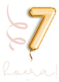 7 jaar! meisje