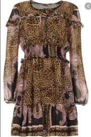 Liu Jo jurk panterprint wa1009t4842