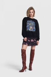 Alix the Label oversized sweater tiger jaquard