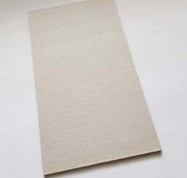 Grijsbord kaartje op maat (8x15cm)