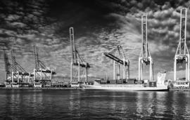 Rotterdam haven(50x70cm)