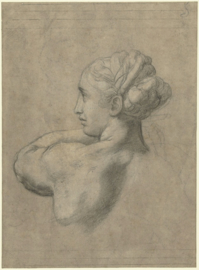 Studie tekening Rafaël (44x60cm)