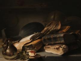 Stilleven met boeken, Jan Lievens
