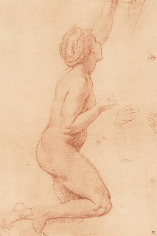 Studie tekening naar Rafaël (40x60cm)