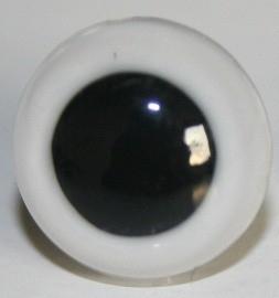Witte ogen 6 mm (per paar)