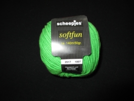 Scheepjes Softfun appelgroen 2517