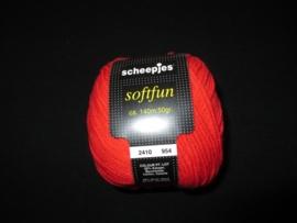 Scheepjes Softfun Rood 2410