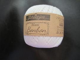 Scheepjes Maxi Bonbon 25 gram 105 Bridel white4
