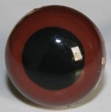 Bruine ogen 6 mm (per paar)