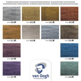 Van Gogh watercolor Metallics 'Speciality'.