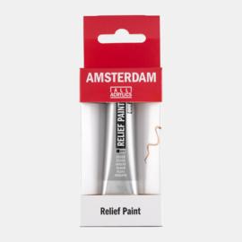 Amsterdam Relief Paint 'Zilver'