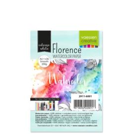 Florence Watercolor papier 200 grams A6