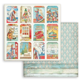 Stamperia Patchwork Christmas 'Cards'