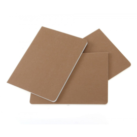 Moleskine plain notebook kraft XL