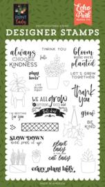 'Plant Lady' designer stamps