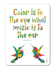 By Kris kaart 'Color is...'