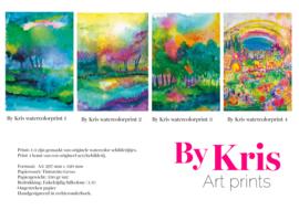 By Kris art print A3