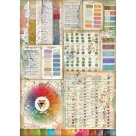 Rice paper 'Atelier Pantone Charts'