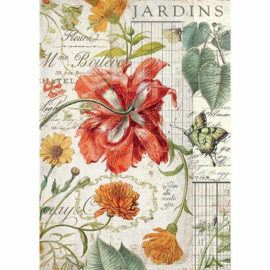 Rice paper 'Jardins'