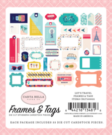 'Let's travel' Frames and Tags