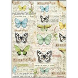 Rice paper 'Butterflies'