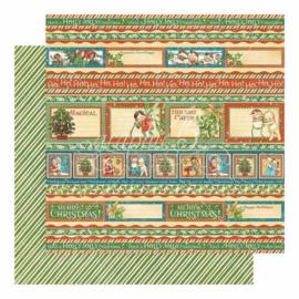 Christmas Magic Paper sheet 'Holly Jolly'