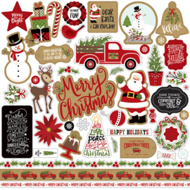 'Celebrate Christmas' element stickers