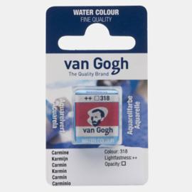 van Gogh Water Color napje 318 'Karmijn'