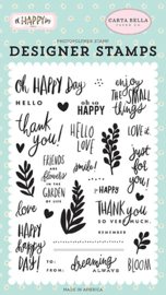 'Oh Happy Day' designer stamps