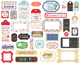 'I Love School' Frames and tags