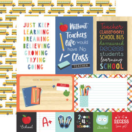 'I Love School' collection kit