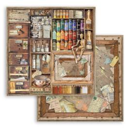Paper Pack 'Atelier des Arts' 20 x 20