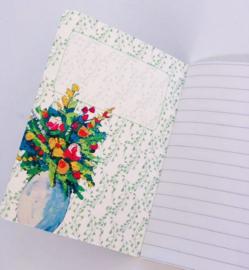 'Flowers By Kris' schriftje