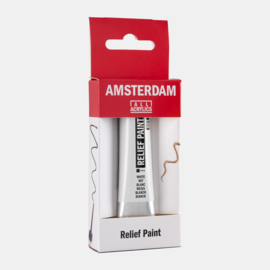 Amsterdam Relief Paint 'Wit'