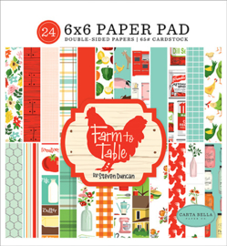 Paper pad 'Farm to Table'