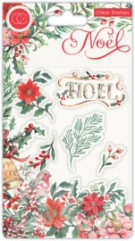 Clear stamps 'Noel Flora'