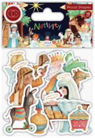 Wooden shapes 'Nativity'