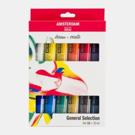 Amsterdam acrylverf 'General Selection'
