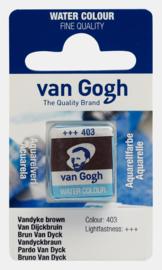 van Gogh Water Color napje 403 'Van Dijckbruin'
