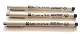 Sakura Micron Pigma fineliner