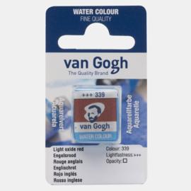 van Gogh Water Color napje 339 'Engelsrood'