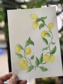 Set met alle 'Watercolor it yourself' kaarten